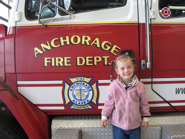 Day 47: Monday, July 19th: Anchorage: Public Lands Historical Tour, Fire Dept. Tour, and a bike ride