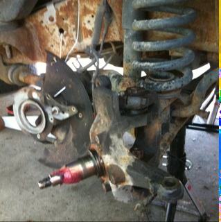 Replacing Ford E350 Ball joints