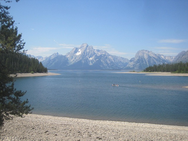 Day 45: July 31, 2013: Yellowstone Day 2 and the Tetons Part 1