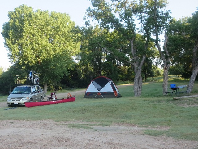 Day 21: August 3rd, 2014 Clark State Lake Park, KS to Chase State ...
